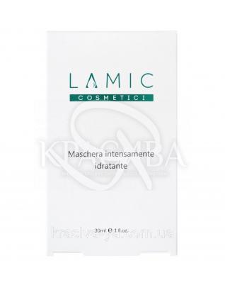 """Интенсивно увлажняющая маска """"Lamic Maschera Intensamente Idratante"""" набор из 3-х масок, 30 мл :"""