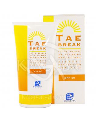 Солнцезащитное молочко TAE Break SPF 50+ для лица-тела-детей, 150 мл : Солнцезащитная косметика для детей