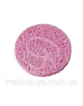 Beter Спонж для снятия макияжа, целлюлоза, d 7.5 см : Декоративная косметика