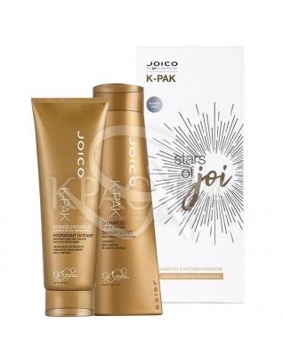 Зоряний набір для пошкодженого волосся (шампунь + зволожувач інтенсивний), 300 мл + 250 мл : Beauty-бокси для волосся