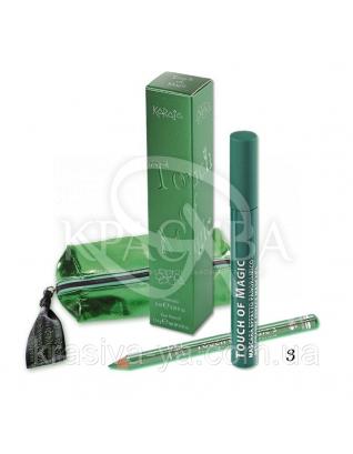 Karaja Туш для вій і олівець Magic Touch 3 Green, 6 мл + 1.14 р