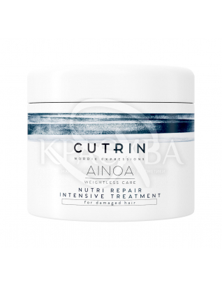 Cutrin Ainoa Nutri Repair Intensive Treatment - Интенсивная восстанавливающая маска для волос, 150 мл