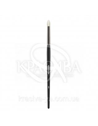 255 Eyeshadow brush, white goat - Кисть для тіней, ворс біла коза : Nastelle