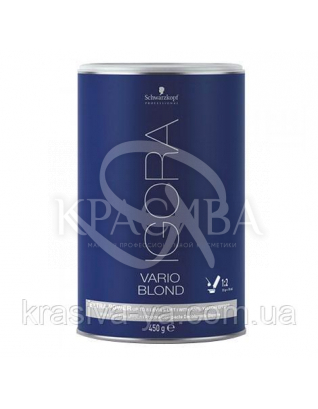 Igora Vario Blond Extra Power - Осветляющий порошок экстремальный, осветление до 8 тонов (белый), 450 г : Порошок для волос