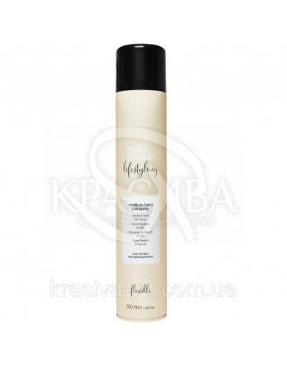 Milk Shake Лайфстайлинг Лак для волос срендней фиксации, 500 мл :