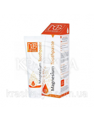 Magnesium Toothpaste Магниевая зубная паста с кальцием, 100 мл