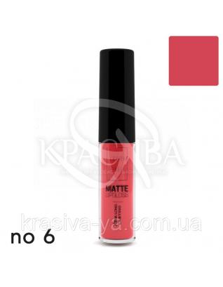 Matte Liquid Lipcolor - Xtra Long Lasting Матова рідка помада 6, 6 мл : Lavish Care