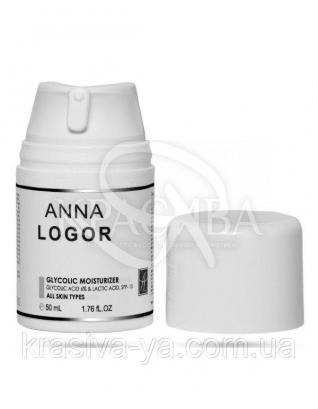 Glycolic Moisturizer Крем з гліколевої кислотою, 100 мл : Anna Logor
