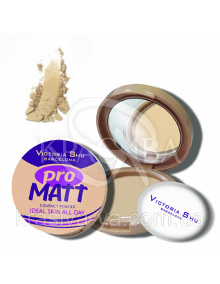 VS Pro Matt Powder Пудра компактна основа 421, 8 г : Пудра для обличчя