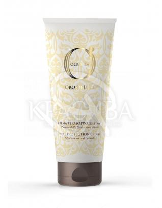 Barex Olioseta ODL - Крем термозащитный с протеинами шелка и экстрактом семян льна, 200 мл : Термозащита для волос