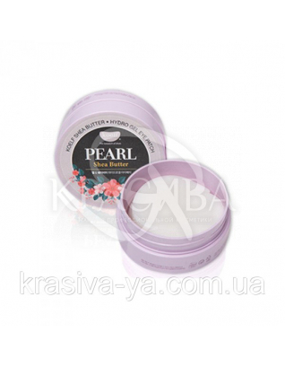 Гидрогелевые патчи для глаз с жемчугом KOELF Pearl & Shea Butter Eye Patch, 60шт : Патчи под глаза
