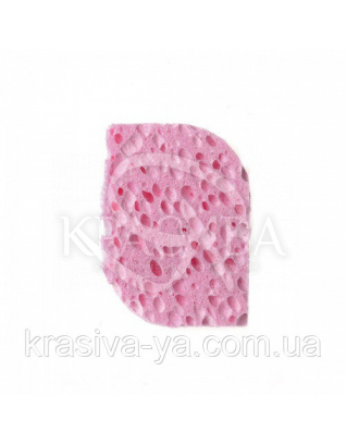 Beter Спонж для снятия макияжа прямоугольный, целлюлоза, d 7.7 см : Аксессуары