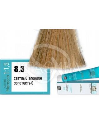 Barex Olioseta ODM - Крем-краска безаммиачная с маслом арганы 8.3 Светлый блондин золотистый, 100 мл :