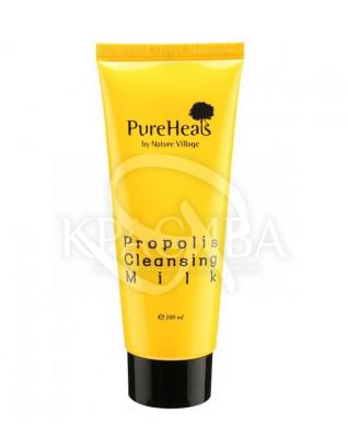 Молочко очищає із екстрактом прополісу для чутливої шкіри : PureHeal's