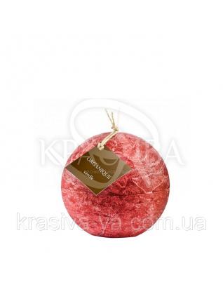 Свічка ароматерапевтична великий шар d 120 - Смородина (Червоний), 765 г : Декор для дому