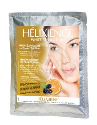 Осветляющая альгинатная маска с витамином С и шелковицей : Heliabrine