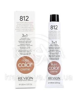 Тонирующий бальзам для волос 812 Светлый жемчужно-бежевый блонд, 50 мл