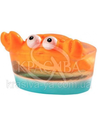 Глицериновое детское мыло Краб / Большая игрушка, 80 г : Для детей