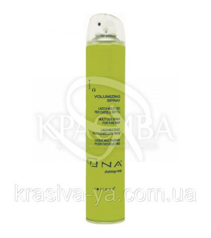 Уна Волюмизин Спрей термоактивный для объема волос средней фиксации, 500 мл - 1