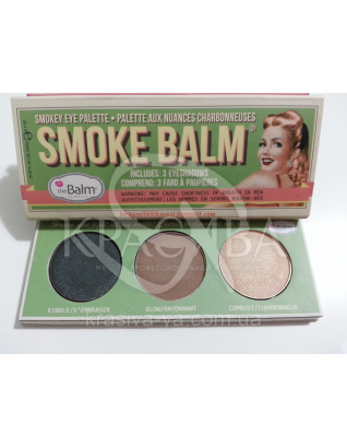 The Balm Mini Palettes SmokeBalm Vol.2-Green Packaging - Палетка теней для век, 10.2 г : Палетки