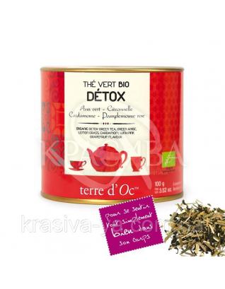 """TdO Органический зеленый чай """"Детокс"""" (зеленый анис, кардамон, лемонграсс ), 100 г : Органический чай"""