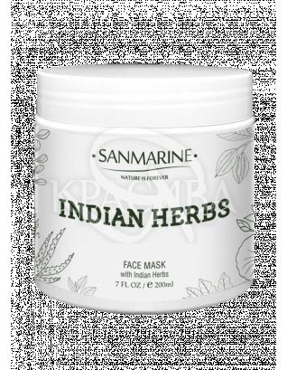 Заспокійлива маска з індійськими травами Soothing Mask With Indian Herb, 200 мл :
