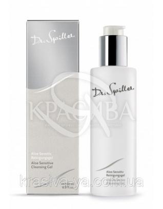 Очищающий гель для чувствительной кожи с экстрактом Алоэ Вера, 200 мл : Dr. Spiller