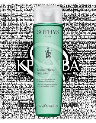 Очищаючий лосьйон для шкіри з куперозом, 200 мл : Sothys