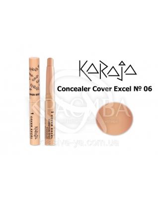 Karaja Корректор - карандаш Conceler Cover Excel 06, 2.5 г : Корректор для лица