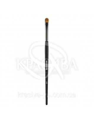 315 Creamy, gel textures, aqua eyeshadow brush, synthetic - Кисть для кремових тіней, синтетика : Nastelle