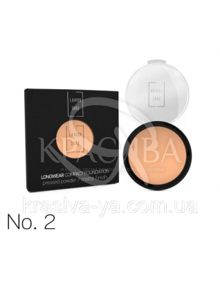 Longwear Compact Foundation Pressed Powder Компактная пудра для лица 2, 12 г : Макияж для лица