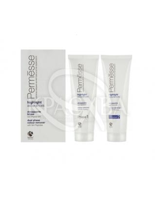 Barex Permesse - Засіб для зняття косметичного кольору, 2 х 125 мл : Засоби для видалення фарби з волосся