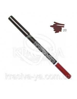 Олівець для губ Lip Liner New 020, 1.5 м : Layla