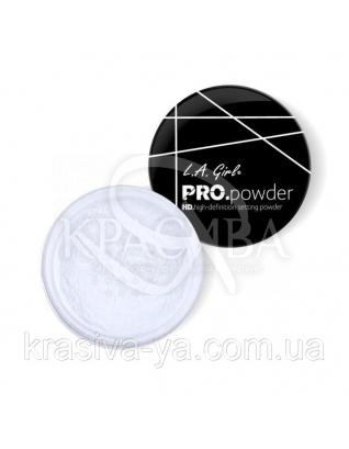 L.A.Girl GPP 939 Pro Powder HD Setting Powder Banana Translucent - Рассыпчатая пудра для лица, 5 г : Пудра для лица