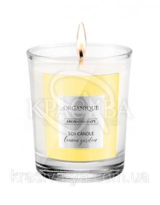 Свічка ароматерапевтична з соєвого воску Lemon Gardens, 180 г : Арома свічки