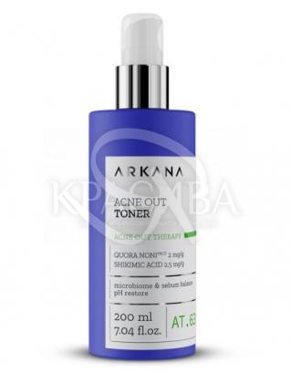 Нормалізуючий тонік з шікімовой і саліцилової кислоти для жирної комбінованої шкіри з ознаками акне : Arkana