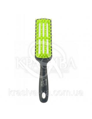 Beter Deslia Hair Flow Расческа массажная для сушки феном, прямоугольная, 24.5 см : Расчески для волос