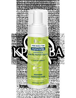 Очищающая успокаиваюшая пенка с Алоэ Вера и витамином B3 Soothing Cleanding Foam Wirh Aloe Vera, 150 мл : Пенка для лица