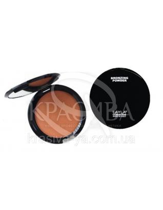 Компактная основа для лица Top Cover Bronzing Powder 02, 8 г : Основа под макияж