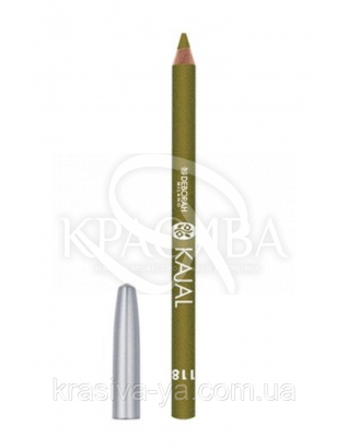 "Косметический карандаш для глаз ""Kajal Pencil"" 118 Olive Green, 1.5 г"