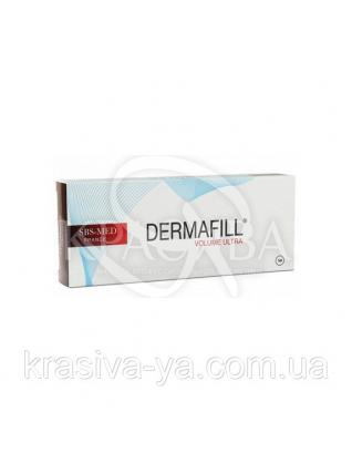 Dermafill Volume Ultra Плотный монофазный филлер. Заполнение глубоких морщин и складок, 1 мл : Филлеры