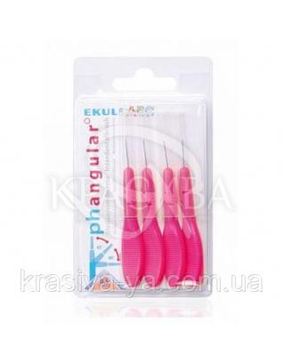 Щетки для межзубных промежутков Ekulf Ph Angular 0,5 мм, 2 уп * 4 шт