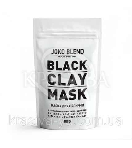 Чорна глиняна маска для обличчя Black Clay Mask Joko Blend, 150 г - 1