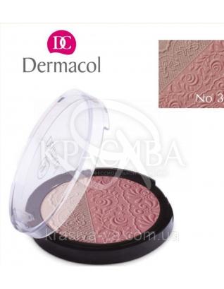 DC Make-up Duo Blusher 03 Двухцветные компактные румяна, 8.5 г