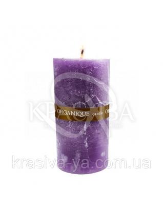 Свічка ароматерапевтична середня 75*75 - Орієнт (Фіолетовий), 235 г : Декор для дому