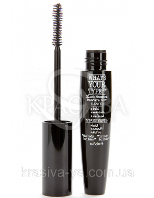The Balm Mascara what's Your Type Mascara Body Builder-Black (Tester) - Туш для вій, 12 мл : TheBalm