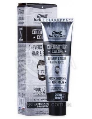 Coloration Color Brown Краска для усов и бороды 4 Коричневый, 60 г : Средства для ухода за бородой