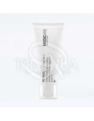 Retinol + Vitamin C Advanced Anti - Ageing Cream Удосконалює нічний крем, 50 мл : Medicare
