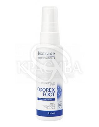 Odorex Спрей против потоотделения стоп, 50 мл : Biotrade