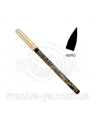 Олівець для очей стійкий Eye Liner Pencil Long Lasting Black, 1.5 м : Layla